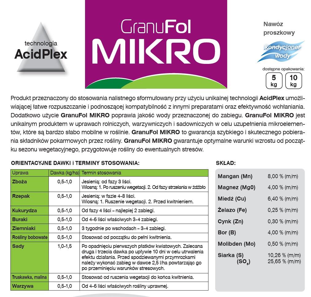 granulfol-mikro